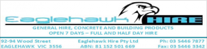 Eaglehawk hire